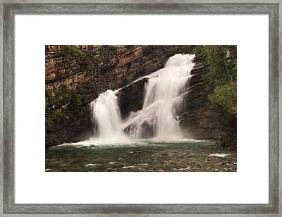 Cameron Falls Framed Print by Mark Kiver