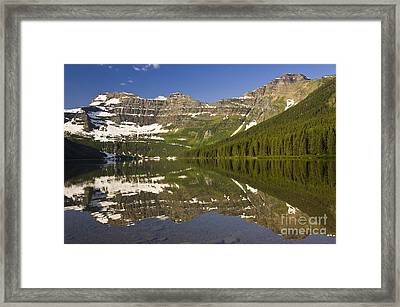 Cameron Lake Framed Print