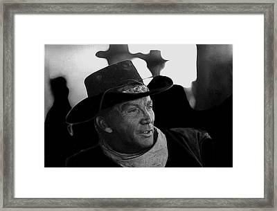 Cameron Mitchell The High Chaparral Framed Print by David Lee Guss