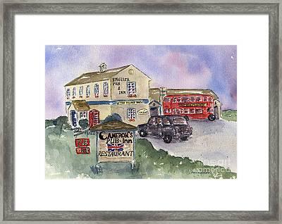 Cameron's Pub And Restaurant Framed Print