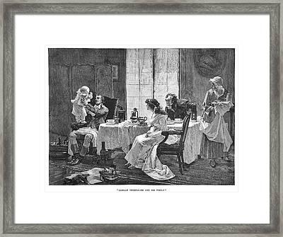 Camille Desmoulins (1760-94) Framed Print