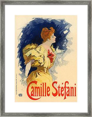 Camille Stefani Framed Print by Gianfranco Weiss