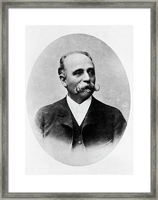 Camillo Golgi Framed Print by National Library Of Medicine