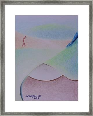 Caminada Tres Framed Print by Extranjerocus