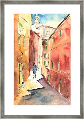 Camogli In Italy 03 Framed Print