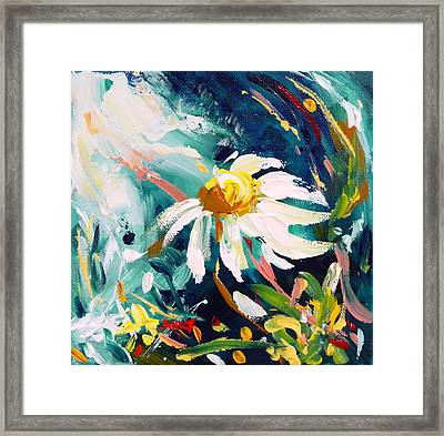 Camomile Framed Print by Mikko Tyllinen