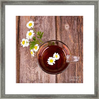 Camomile Tea Framed Print by Jane Rix