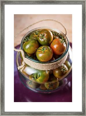 Camone Tomatoes Framed Print