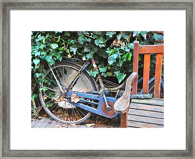 Camouflage Framed Print by Karen Weetman