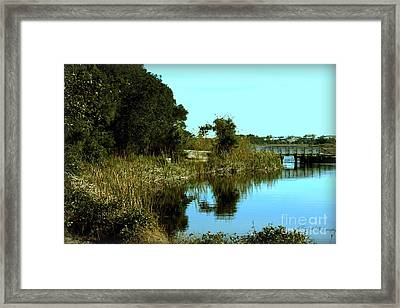 Camp Helen Framed Print