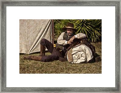 Camp Framed Print