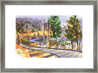 Camp Penuel At Lake Killarney Framed Print by Kip DeVore