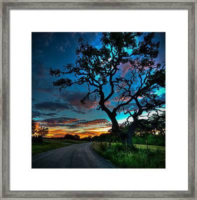 Camp Verde Sunrise Framed Print