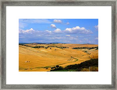 Campagna Di Tarquinia Framed Print