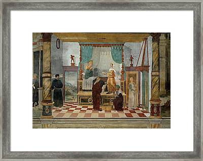 Campagnola Giulio, Probably Campagnola Framed Print by Everett