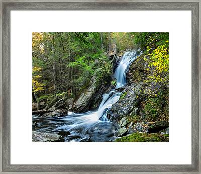 Campbell Falls - Power And Beauty Framed Print by Thomas Schoeller