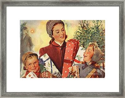 Campbell�s 1930s Usa Soup Gifts Framed Print