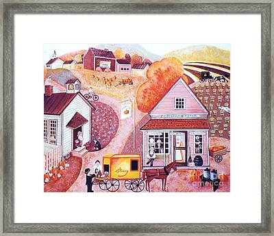 Campbell's General Store Framed Print by Judy Redder