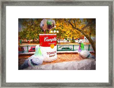 Campbell's Soup Framed Print