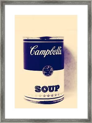 Campbells Soup Framed Print