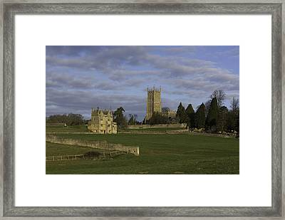 Campden House And St James Church Framed Print by Wendy Chapman