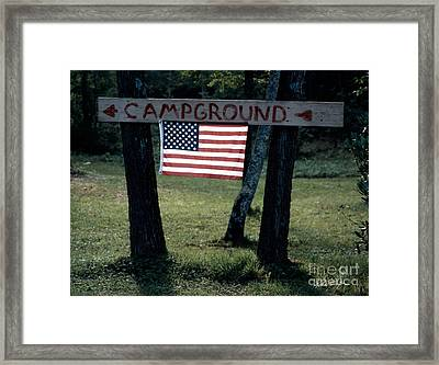 Campground 2003 Framed Print
