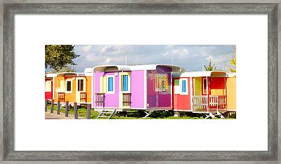 Camping With Style Framed Print by Karen Weetman