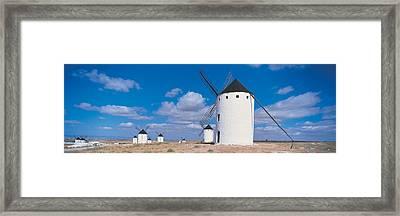 Campo De Criptana La Mancha Spain Framed Print