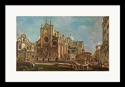 Scuola Di San Marco Framed Prints