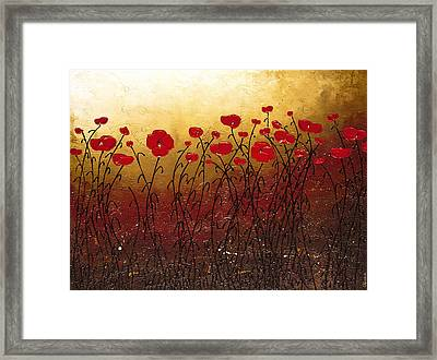Campo Florido Framed Print by Carmen Guedez