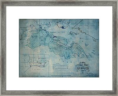 Campobello Island 1830 Framed Print by Andrew Fare