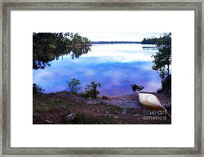 Campsite Serenity Framed Print by Thomas R Fletcher