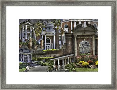 Campus Life Murray State University Framed Print