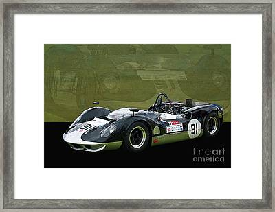 Can-am Mclaren M1b Framed Print