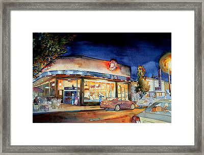 Can Can Carytown Framed Print by Jim Smither