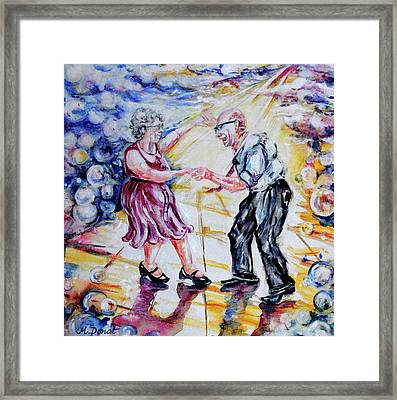 Can I Have This Dance For The Rest Of My Life Framed Print by Margaret Donat
