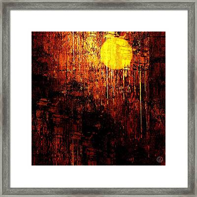 Can The Moon Cry Framed Print by Gun Legler