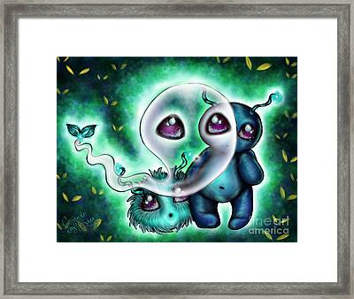 Can They See Us? Framed Print by Coriander  Shea