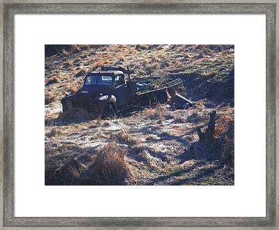 Can U Hear Me Now Framed Print