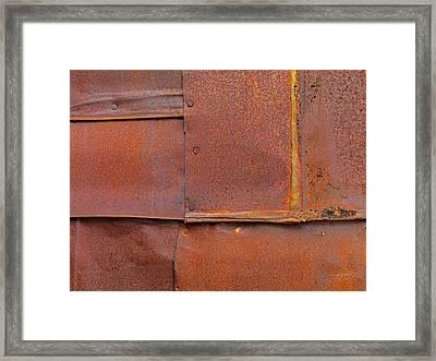 Can Wall 5 Framed Print by Leland D Howard