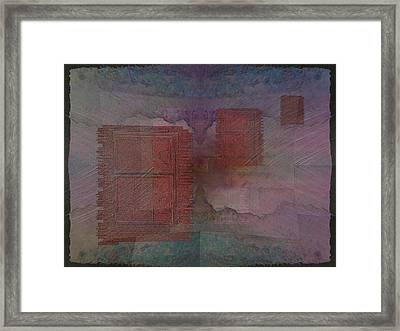 Can You Hear Me Knocking Now Framed Print by Tim Allen