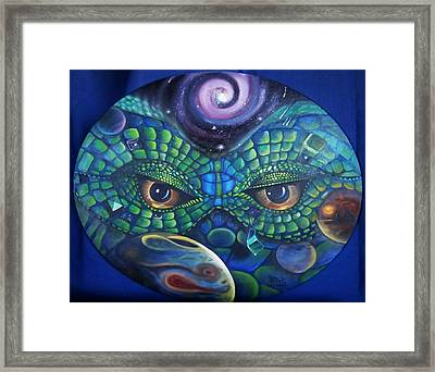 Can You See Me Now Framed Print by Sherry Strong