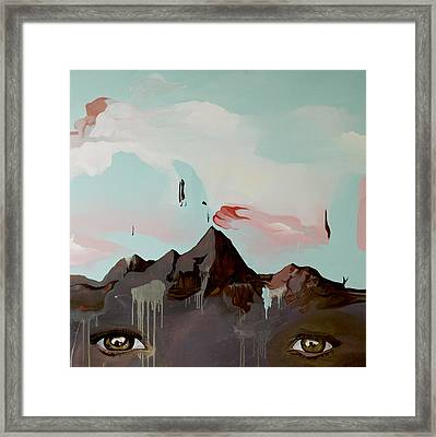 Can You See The Skull Framed Print by Joseph Demaree