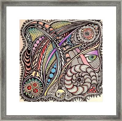 Can You See What I See Framed Print by Iya Carson