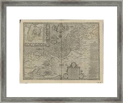 Canaan Framed Print by British Library