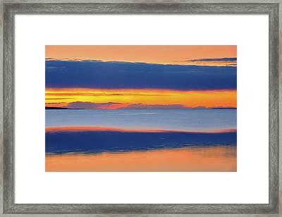 Canada, Alberta Lesser Slave Lake Framed Print by Jaynes Gallery