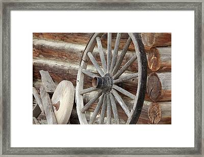 Canada, British Columbia, Fort Steele Framed Print by Jaynes Gallery