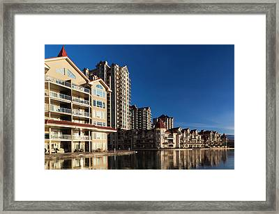 Canada, British Columbia, Okanagan Framed Print