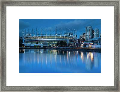 Canada, British Columbia, Vancouver, Bc Framed Print by Walter Bibikow