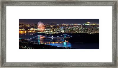 Canada Day 2013 Framed Print by Alexis Birkill